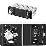 Radio Coche, Acouto Reproductor MP5 4.1 Pulgadas Pantalla HD Estéreo de Coche Bluetooth Manos Libres Reproducción de Video Radio FM AUX TF USB con Control Remoto(sin cámara)