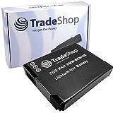 Trade-Batería de ion de litio, 3,6 V/3,7 V para Panasonic Lumix DMC-LZ40 DMC-TZ55 DMC-TZ56 DMC-TZ57 DMC-TZ58 DMC-TZ60 DMC-TZ61 DMC-TZ70 DMC-TZ71