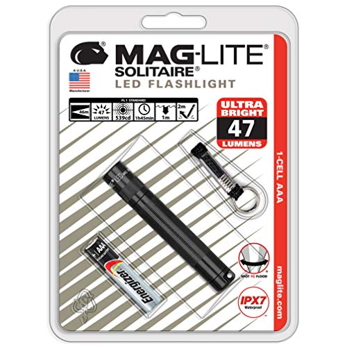 Best AAA Flashlight: Maglite Solitaire LED