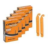 Continental(コンチネンタル) チューブ Race 28(700C) 20/25C 622/630 5本セット+タイヤレバー2本セット (S42) [並行輸入品]