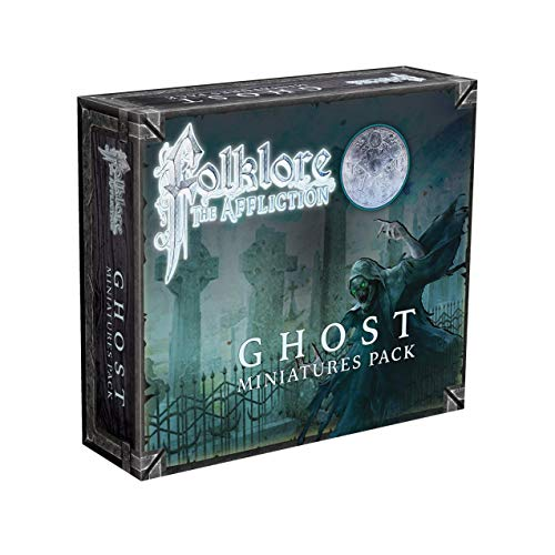 GreenBrier Games Folklore The Affliction: Ghost Miniatures Pack
