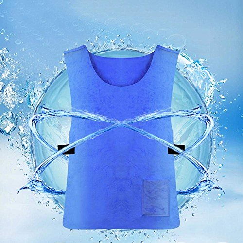 YCDTMY Outdoor ice vest,Ice Clothes Refrigeration Artifact Summer Cooling Vest Cool Best Sports Outdoor Site Heat Stroke Control Working Cooling,63x43cm