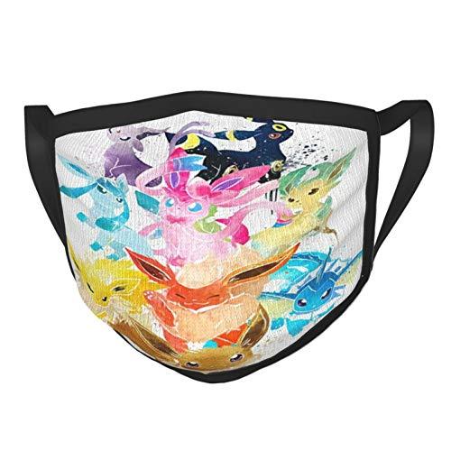 Pokemon - Pañuelo unisex personalizado Rave para el cuello, bandana para motociclista, bandana para damen herren