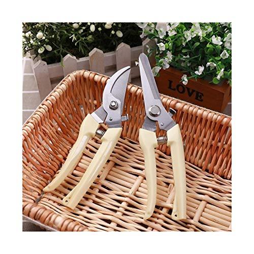 Youpin 17 cm podadora cortador de árbol de jardinería poda tijeras de acero inoxidable herramientas de corte antideslizantes (color 1 pieza de codo)