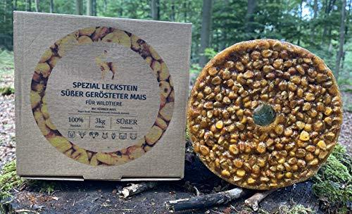 wildlutscher Spezial Leckstein gerösteter Mais