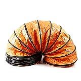 Lufttransportschlauch Warmluftschlauch Abluftschlauch Spiralschlauch Φ450mm Flexibel...