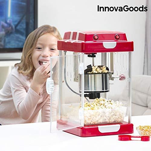 Preisvergleich Produktbild GKA XL Retro Popcorn-Maschine Popcorn-Maker Popkorn-Automat Rührwerk mit Öl Popcorn Kino