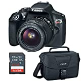 Product Image of the Canon EOS Rebel T6 DSLR Camera w/EF-S 18-55mm, 32GB SD Card & Camera Bag...