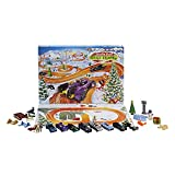 Hot Wheels 2021 Advent Calendar with 24 Surprises That Include 8 1:64 Scale Vehicles & Other Cool Accessories, Plus a Play Pane Mat, for Collectors & Kids 3 Years Old & Up