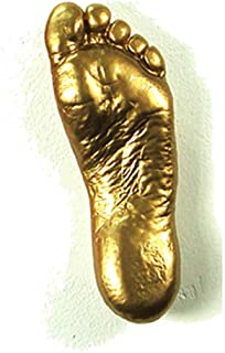Antartidee Wall Hanger Foot Lolla L Gold Glossy Made in Italy