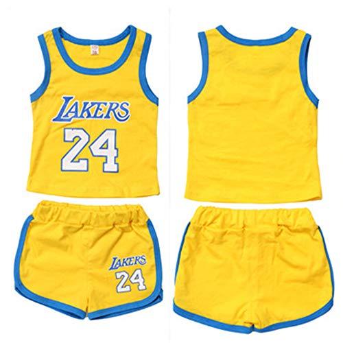 FILWS Baby Basketball Jersey Set Sommer Sport Weste Set Jungen Und Mädchen Basketball Fans Jersey
