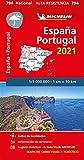 Mapa National España - Portugal 2021 'Alta Resistencia': Maps (Mapas National Michelin)