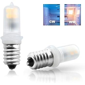 Luxvista 2x E14 2W Mini LED Frigorífico Bombilla para Bulbo de ...