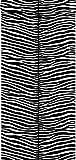 papier peint zèbres noir et blanc - 136807 - d'ESTAhome.nl