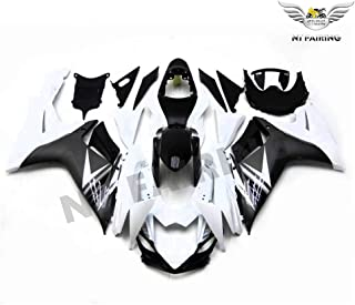 NT FAIRING White Black Injection Mold Fairings Fit for Suzuki 2011-2017 GSXR 600 750 K11 GSX-R600 2011 2012 2013 2014 2015 2016 Aftermarket Painted Kit ABS Plastic Set Motorcycle Bodywork