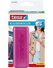 tesa kledingroller voordeelverpakking, 1 x 3 m x 80 mm, roze/lichtgeel/lichtgrijs