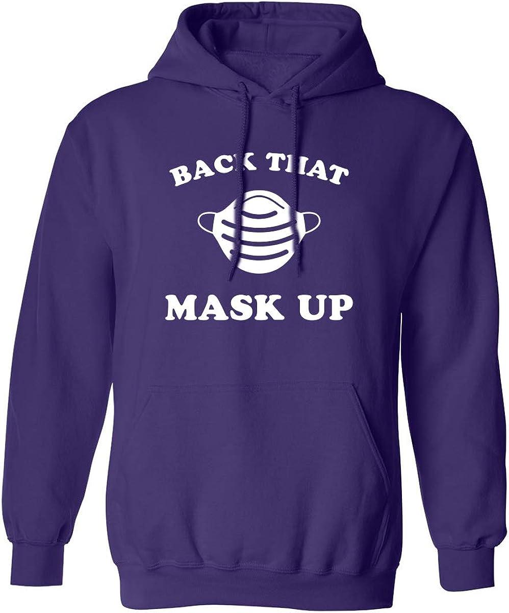 Back That Mask Up Adult Hooded Sweatshirt