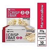 Optimum Nutrition Crisp Protein Bar, Barre Proteine Croustillante Avec Whey Protéine, Sans Sucre Ajouté, Riche en Proteine,...