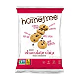 Homefree Treats You Can Trust Gluten Free Mini Chocolate Chip Cookie, Single Serve bag, 1.1 Ounce...