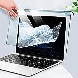 WLWLEO Pellicola Proteggi Schermo per Laptop Filtro Anti-Luce Blu Allevia l'affaticamento degli Occhi, Pannello di Protezione dello Schermo sospeso per Monitor per Laptop da 12-17',15.6'(370 * 228)