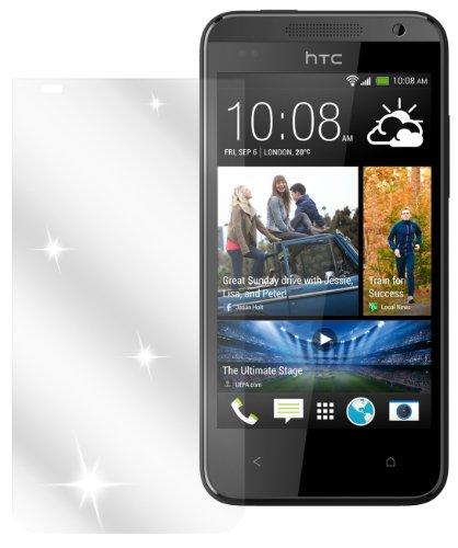 Ecultor I 6X Schutzfolie klar passend für HTC Desire 310 Folie Bildschirmschutzfolie