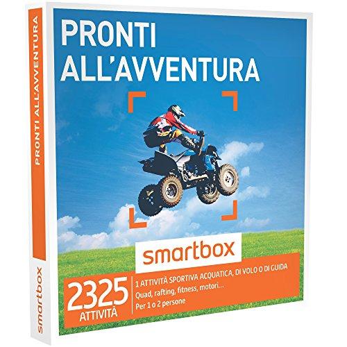 Smartbox - Pronti All'Avventura - 2325 Esperienze Tra Sport Acquatici, Attività Di Guida o Di Volo, Cofanetto Regalo, Avventura