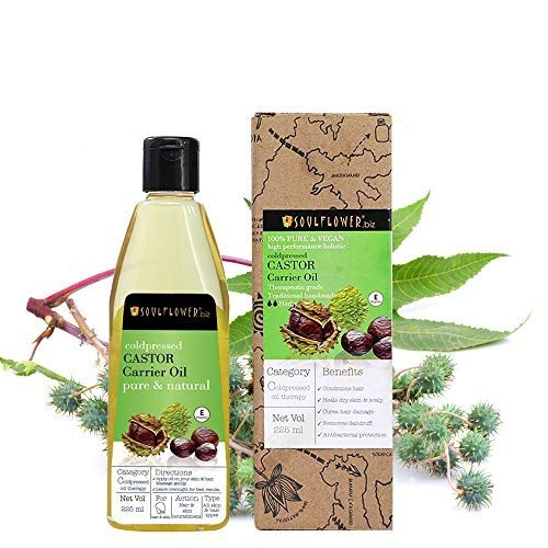 Soulflower Castor Oil, 225ml