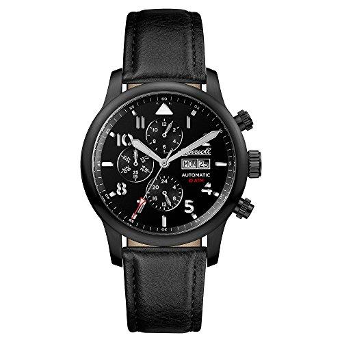 Ingersoll Herren Chronograph Automatik Uhr mit Leder Armband I01402