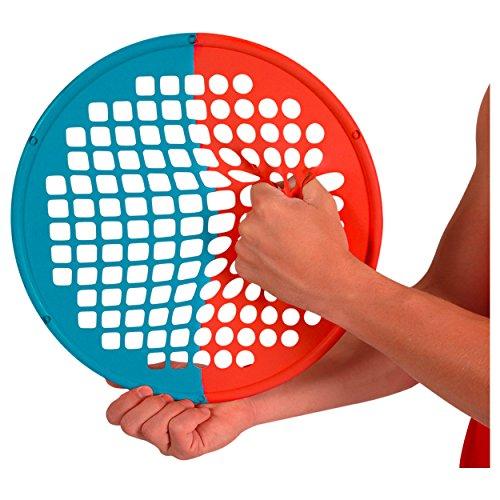 Sport-Tec Power Web Combo Handtrainer Fingertrainer 38 cm: Leicht/Stark, Gelb/Grün