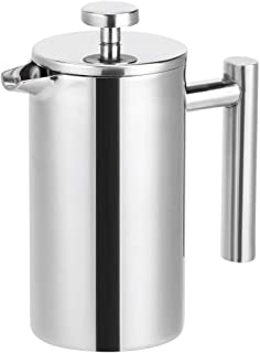 RBSD Presse kaffekanna, presskaffebryggare, 350 ml kaffemaskin för tebryggare kaffe