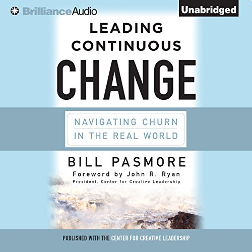 Leading Continuous Change audiobook cover art