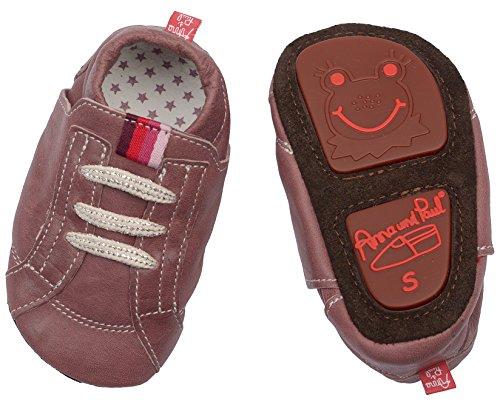 Anna und Paul Chaussures de jeu Streetwear - Prune - Taille S-L - Avec semelle en caoutchouc - Rouge - prune, Large