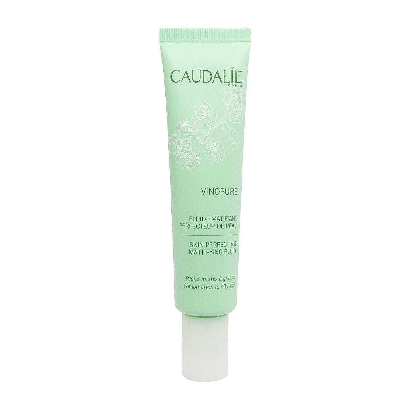 統計繕うマイルCaudalie Vinopure Skin Perfecting Fluid 40 Ml [並行輸入品]