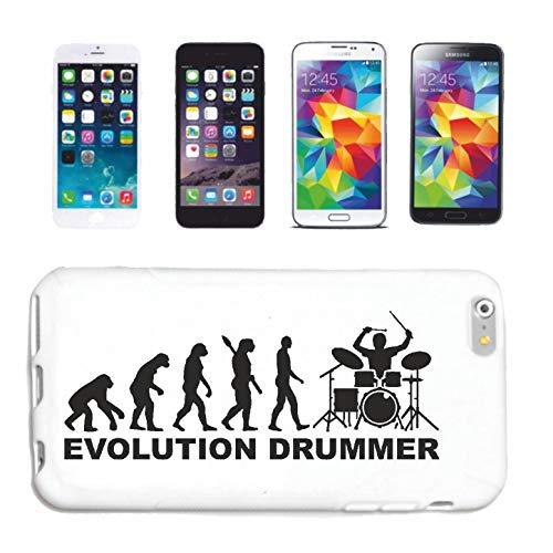 Reifen-Markt Handyhülle kompatibel für HTC M8 Schlagzeuger Drummer Rockband Musikband GUGGE Musik Hardcase Schutzhülle Handy Cover Smart Cover