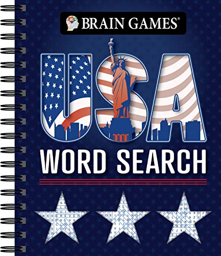 Brain Games - USA Word Search (#3)