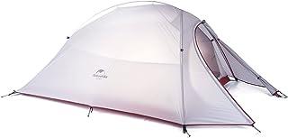 Naturehike公式ショップ テント 2人用 アウトドア 二重層 超軽量 4シーズン 防風防水 PU3000/4000 キャンピング プロフェッショナルテント(専用グランドシート付)