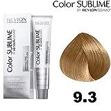 REVLON Professional Sublime by issimo Color&Care Ammonia Free Permanent Color Revlonissimo 75 ml, 9.3, Dorado, Estándar