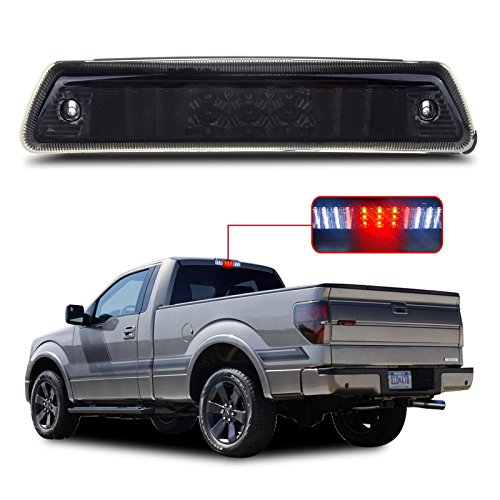 LED 3rd Brake Light Carge Light High Mount Brake Light fit for 2009-2014 Ford F-150 Smoke Lens LED Light
