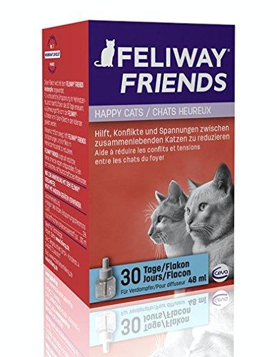 FELIWAY FRIENDS 30 Tage-Nachfüllflakon, 48 ml, Harmonie zwischen Katzen