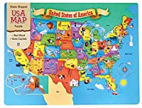 MasterPieces USA 44 Piece Wood Map Puzzle