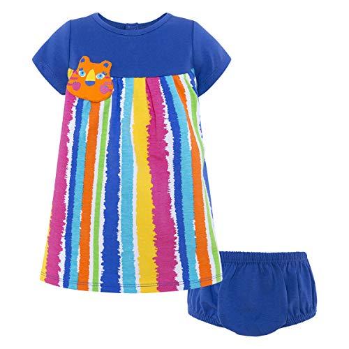 Tuc Tuc Vestido Punto M/C NIÑA Animal Crew, Azul (Azul 16), 68 (Tamaño del Fabricante:6M) para Bebés