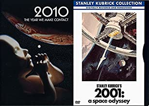 Space Fiction 2001: A Space Odyssey & 2010 The Year We Make Contact DVD Double Feature