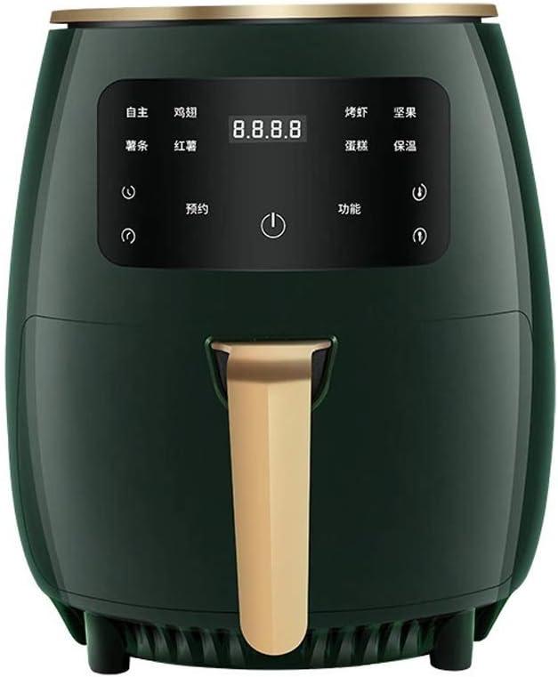 Raypow Friggitrice ad aria senza olio Rossa /· Touch screen multifunzione /· 4.5L 1400W /· Basso contenuto di grassi e pi/ù salutare /· Protezione contro il surriscaldamento
