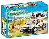 Playmobil Vida Salvaje - Vehículo Safari con Leones, Playset de figuras de juguete, Multicolor (Playmobil, 6798), Miscelanea