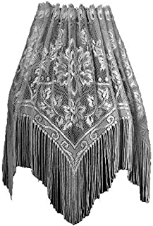 Heritage Lace Gala 60-Inch Wide by 22-Inch Lampshade Topper, Ecru