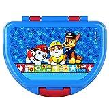 POS 29427088 - Fiambrera con diseño de la Patrulla Canina, aprox. 16 x 12 x 6,5 cm, de plástico, sin BPA ni ftalatos, ideal para el almuerzo, para niños y niñas