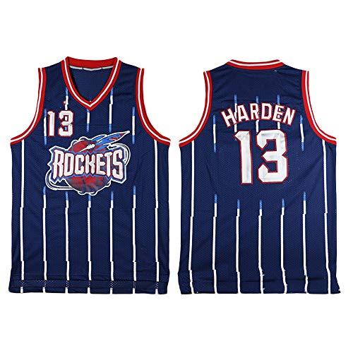 James Harden # 13, Camiseta De Baloncesto NBA para Hombre, Retro Jersey Swingman Basketball Camisetas, Chaleco De Gimnasia Top Deportivo Ropa, S-XXL, Z211MK (Size : XXL)