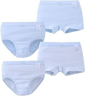 Set of 4 Boxer Shorts Boxer Panties Boy 100/% Cotton Size Elastic Pierre Cedric