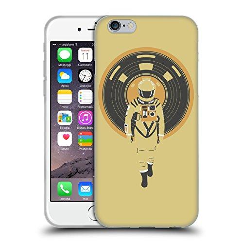 Head Case Designs Licenza Ufficiale Robert Farkas Dj HAL Spazio Cover in Morbido Gel Compatibile con Apple iPhone 6 / iPhone 6s