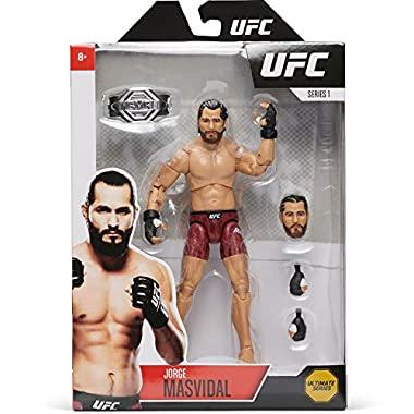 UFC Ultimate Series Jorge Masvidal Action Figure – 6.5 Inch Collectible